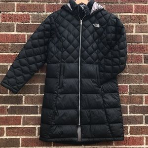 THE NORTHFACE HOODED PARKA (WILL FIT XS/S WOMAN)